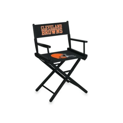 NFL Cleveland Browns Table Height Director Chair
