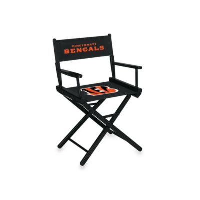 NFL Cincinnati Bengals Table Height Director Chair