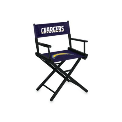NFL San Diego Chargers Table Height Director Chair