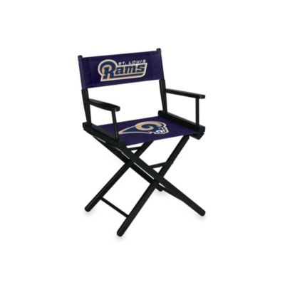 NFL St. Louis Rams Table Height Director Chair