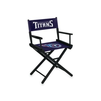 NFL Tennessee Titans Table Height Director Chair