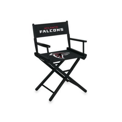 NFL Atlanta Falcons Table Height Director Chair