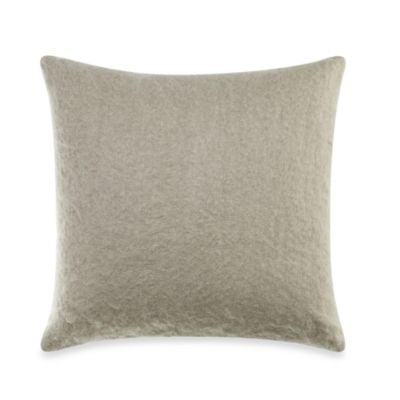 Wamsutta® Ashby Natural Mohair Square Toss Pillow