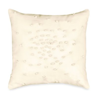 DKNYpure Pure Plisse Knots Toss Pillow