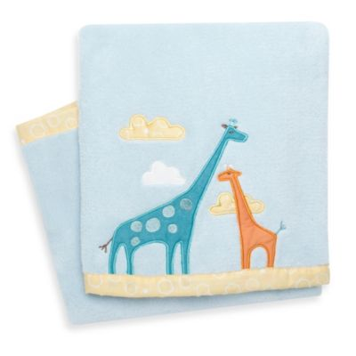 SKIP*HOP® Giraffe Safari Plush Blanket