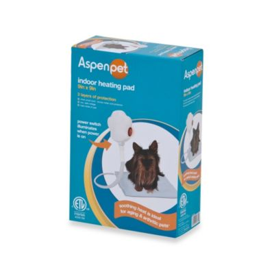 Aspen Pet Electronic Indoor 9-inch x 9-Inch Pet Heating Pad