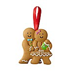 Pearhead First Christmas Gingerbread Family Holiday Ornament