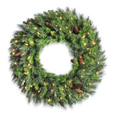 Vickerman 60-Inch Cheyenne Pine Wreath