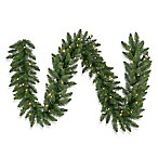 Vickerman 9-Foot x 20-Inch White LED Camdon Fir Garland