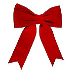 Vickerman 48-Inch x 56-Inch UV Resistant Velvet Bow in Red