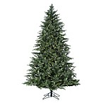 7 ½-Foot Artificial Pre-Lit LED Portland Pine Tree