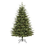 Vickerman 7-Foot 56-Inch Grantwood Tree with Clear Mini Lights