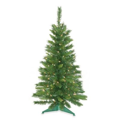 3 1/2-Foot Pre-Lit Imperial Pine Tree