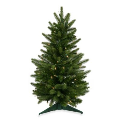 Vickerman 24-Inch Frasier Fir Tree with Clear Dura-Lit Lights
