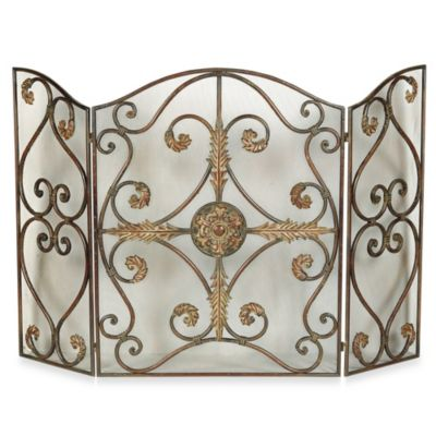 Uttermost Jerrica Fireplace Screen