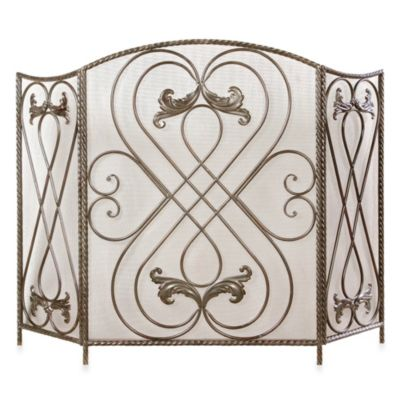 Uttermost Effie Metal Fireplace Screen