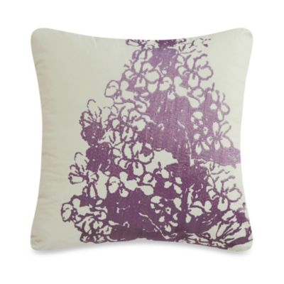 May Square Throw Pillow