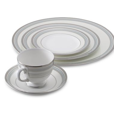 Pacific Stripe Dinnerware 5-Piece Place Setting by Wedgwood