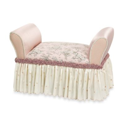 Glenna Jean Madison Upholstered Child's Bench