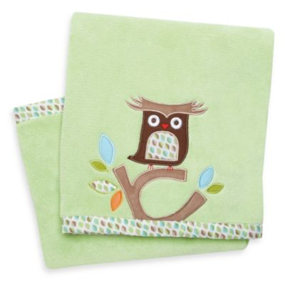 SKIP*HOP® Treetop Friends Owl Plush Blanket