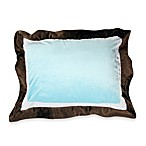 One Grace Place Puppy Pal Standard Flanged Pillow Sham