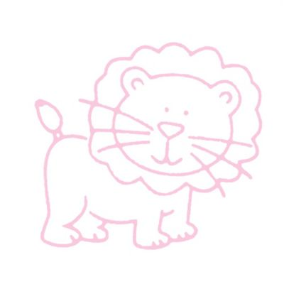 Glenna Jean Bella & Friends Lion Wall Decal