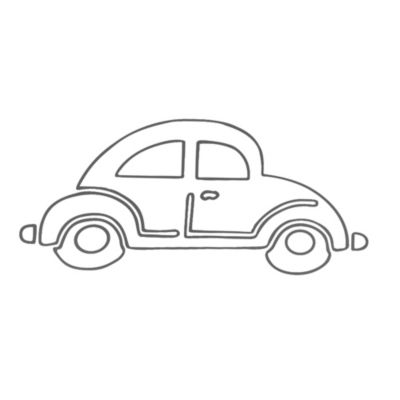 Car Wall Decal