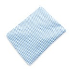 Glenna Jean Starlight Fitted Crib Sheet in Blue Gingham