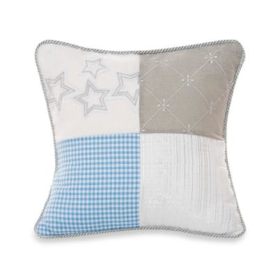 Glenna Jean Starlight Patch Throw Pillow