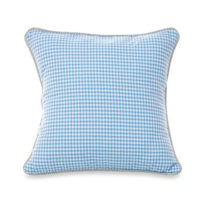 Glenna Jean Starlight Gingham Throw Pillow
