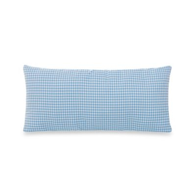 Glenna Jean Starlight Rectangular Gingham Pillow