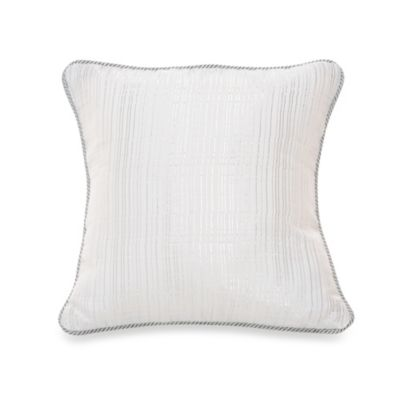Glenna Jean Starlight Metallic Striped Throw Pillow