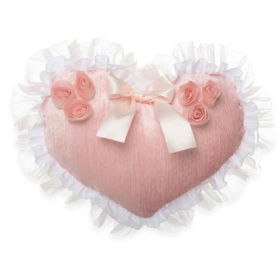 Cotton Heart Pillow