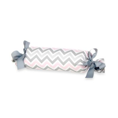 Glenna Jean Bella & Friends Zig Zag Roll Pillow