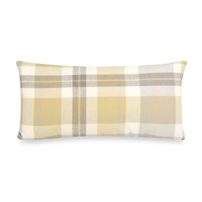 Glenna Jean Brea Rectangle Plaid Decorative Pillow