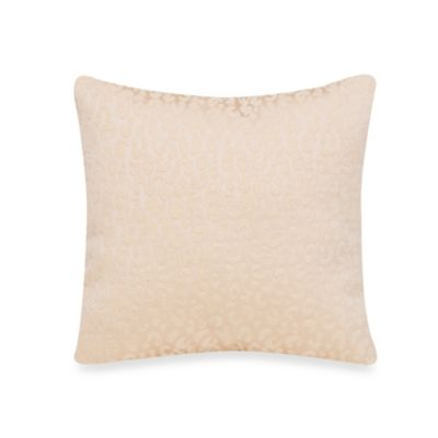 Glenna Jean Capetown Cream Cheetah Velvet Pillow
