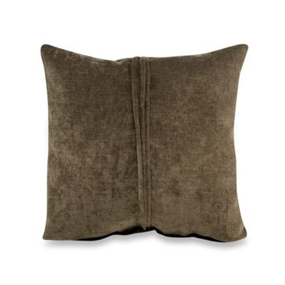 Glenna Jean Echo Velvet Pillow in Brown