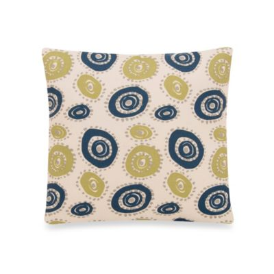 Glenna Jean Uptown Traffic 13-Inch Square Circles Pillow