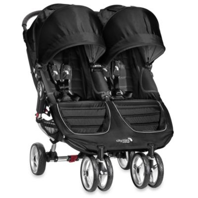 Strollers > Baby Jogger® City Mini™ Double Stroller in Black/Grey