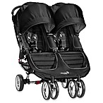 Baby Jogger® City Mini™ Double Stroller in Black/Grey