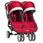 Baby Jogger® City Mini™ Double Stroller in Crimson/Grey