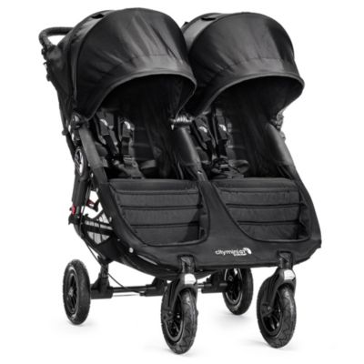 Baby Jogger® City Mini GT™ Double Stroller in Black/Black