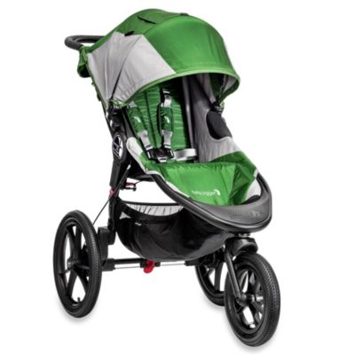 Baby Jogger® Summit X3 Single Stroller in Green/Grey