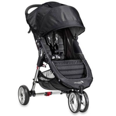 Full Size Strollers > Baby Jogger® City Mini™ Single Stroller in Black/Grey