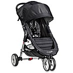Baby Jogger® City Mini™ Single Stroller in Black/Grey