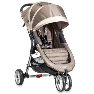 Baby Jogger® City Mini™ Single Stroller in Sand/Stone