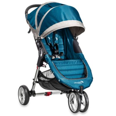 Baby Jogger® City Mini™ Single Stroller in Teal/Grey