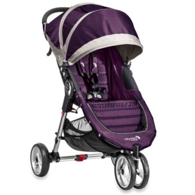 Baby Jogger® City Mini™ Single Stroller in Purple/Grey