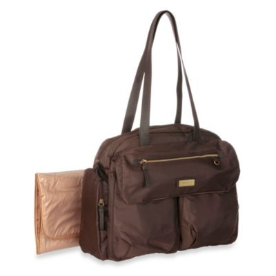 Carter's® Slinky Nylon Fashion Duffle Diaper Bag in Pebble