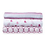 SwaddleDesigns® SwaddleLite Jewel Tone Marquisette 3-Pack Blanket Set in Very Berry